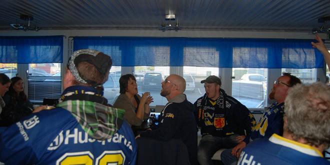 Inför Hv71-Luleå